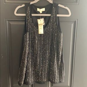 Tops - 🎉🔥💥NWT Olive and Oak Sequin Sleeveless Top